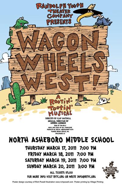 wagonwheels poster