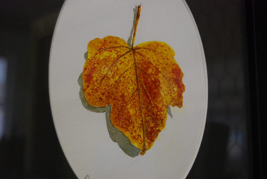..and I hadn't seen Debra Spinks' leaves yet. I like 'em!