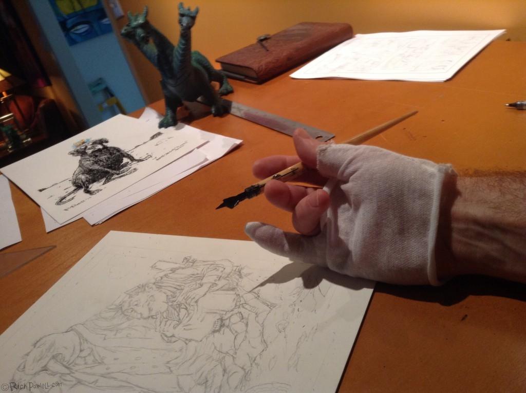 Inking